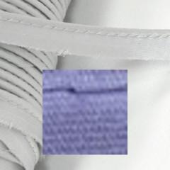 Кант атласный с вшитым шнуром Gamma 10мм СИРЕНЕВЫЙ (на отрез)