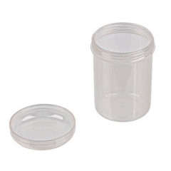 Баночка прозрачная пластик с завинчивающейся крышкой Gamma 6см