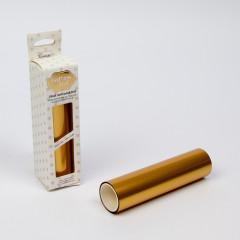 Фольга для термотрансфера Couture Creations GoPress and Foil винтажный матовый золотой