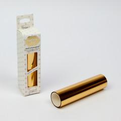 Фольга для термотрансфера Couture Creations GoPress and Foil зеркальный золотой