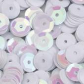 Пайетки круглые EFCO 6мм белые