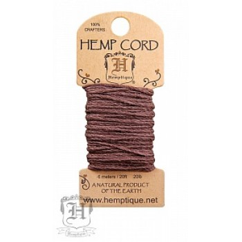 Шнур из пеньки Hemptique HEMP CORD светло-коричневый