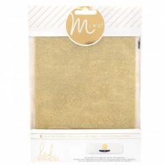 Глиттерные листы для MINC от Heidi Swapp GOLD 4 шт золото