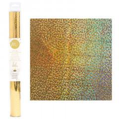 Тонерочувствительная фольга для MINC от Heidi Swapp GOLD STARS 31х183см