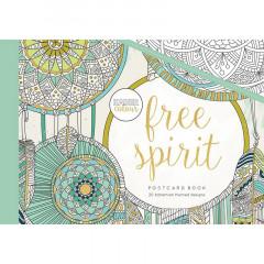 Набор открыток для раскрашивания Kaisercraft FREE SPIRIT