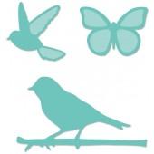 Набор ножей для вырубки Kaisercraft BIRDS AND BUTTERFLIES птички и бабочки