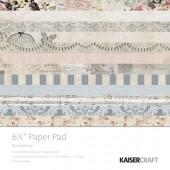 Набор бумаги для скрапбукинга Kaisercraft ROMANTIQUE 15х15см