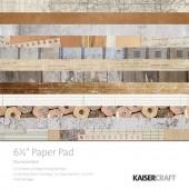 Набор бумаги для скрапбукинга Kaisercraft DOCUMENTED 15х15см