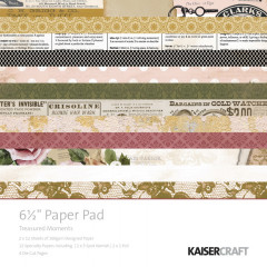 Набор бумаги для скрапбукинга Kaisercraft TREASURED MOMENTS 15х15см
