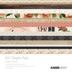 Набор бумаги для скрапбукинга Kaisercraft ALWAYS & FOREVER 15х15см