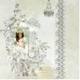 Набор бумаги для скрапбукинга Kaisercraft PEN&INK 30х30см
