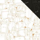 Лист бумаги для скрапбукинга Kaisercraft FLIGHTS коллекция Let's Go 30х30см