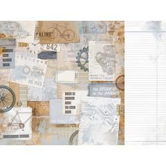 Лист бумаги для скрапбукинга Kaisercraft TOUGH коллекция Workshop 30х30см