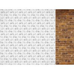 Лист бумаги для скрапбукинга Kaisercraft FEARLESS коллекция Workshop 30х30см