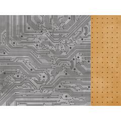Лист бумаги для скрапбукинга Kaisercraft VALIANT коллекция Workshop 30х30см