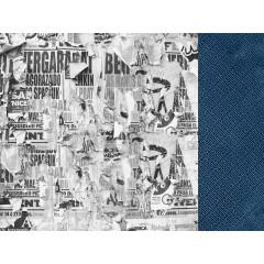 Лист бумаги для скрапбукинга Kaisercraft COURAGEOUS коллекция Workshop 30х30см