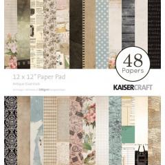 Набор бумаги для скрапбукинга Kaisercraft ANTIQUE ESSENTIALS 30х30см