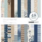 Набор бумаги для скрапбукинга Kaisercraft NAUTICAL 30х30см