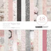 Набор бумаги для скрапбукинга Kaisercraft FLORAL ROMANCE 30х30см
