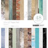Набор бумаги для скрапбукинга Kaisercraft BASECOAT 4 30х30см