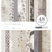 Набор бумаги для скрапбукинга Kaisercraft PEN AND INK 48 листов 30х30см