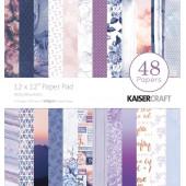 Набор бумаги для скрапбукинга Kaisercraft MISTY MOUNTAINS 48 листов 30х30см