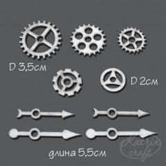 Чипборд Katrin craft ШЕСТЕРЕНКИ