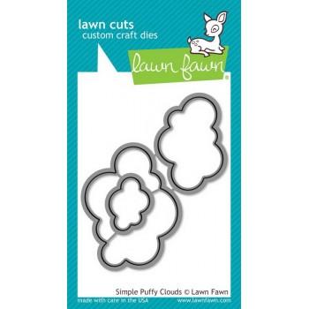 Набор ножей для вырубки Lawn Fawn SIMPLE PUFFY CLOUDS