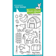 Набор штампов Lawn Fawn CRITTERS ON THE FARM