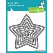 Набор ножей для вырубки Lawn Fawn PUFFY STAR
