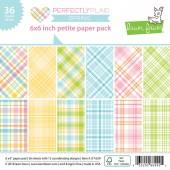 Набор бумаги для скрапбукинга Lawn Fawn PERFECTLY PLAID SPRING 15х15см