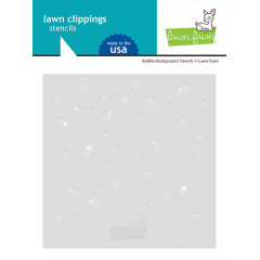 Набор трафаретов Lawn Fawn BUBBLE BACKGROUND STENCILS