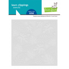 Набор трафаретов Lawn Fawn TROPICAL LEAVES BACKGROUND STENCILS