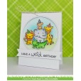 Набор ножей для вырубки Lawn Fawn OUTSIDE IN STITCHED CIRCLE STACKABLES
