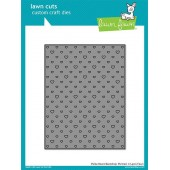 Нож для вырубки Lawn Fawn POLKA HEART BACKDROP PORTRAIT