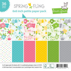 Набор бумаги для скрапбукинга Lawn Fawn SPRING FLING 15х15см
