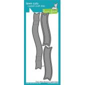 Набор ножей для вырубки Lawn Fawn FANCY WAVY BANNERS