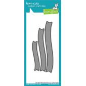 Набор ножей для вырубки Lawn Fawn SIMPLE WAVY BANNERS