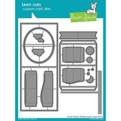 Набор ножей для вырубки Lawn Fawn CENTER PICTURE WINDOW CARD