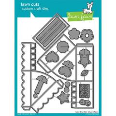 Набор ножей для вырубки Lawn Fawn CAKE SLICE BOX DIES