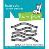 Набор ножей для вырубки Lawn Fawn SANDY BEACH ACCENTS