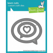 Набор ножей для вырубки Lawn Fawn STITCHED SPEECH BUBBLE FRAMES