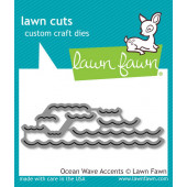 Набор ножей для вырубки Lawn Fawn OCEAN WAVE ACCENTS