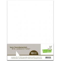 Набор белого кардстока Lawn Fawn CARDSTOCK WHITE 21х27см