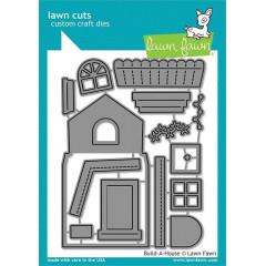 Набор ножей для вырубки Lawn Fawn BUILD A HOUSE