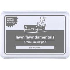 Чернильная подушечка Lawn Fawn RIVER ROCK серый