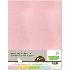 Набор бумаги с перламутром Lawn Fawn SHIMMER CARDSTOCK PASTEL 21х27см