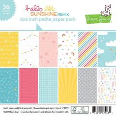 Набор бумаги для скрапбукинга Lawn Fawn HELLO SUNSHINE REMIX 15х15см