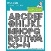 Набор ножей для вырубки Lawn Fawn OLIVER'S STITCHED ABCs