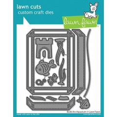 Набор ножей для вырубки Lawn Fawn BUILD-A-AQUARIUM